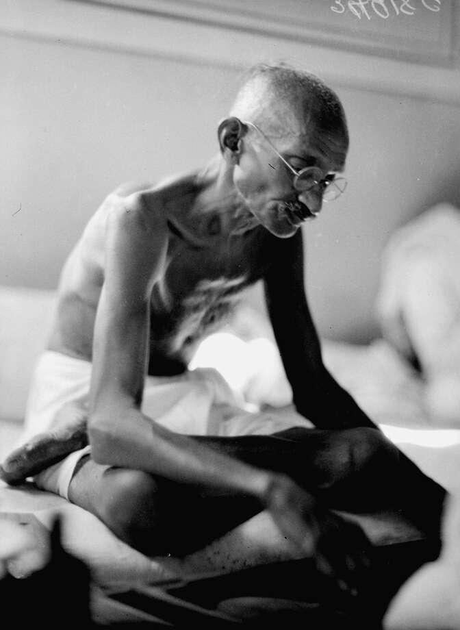 1930: Mahatma Gandhi Photo: J.A. MILLS, Associated Press / AP