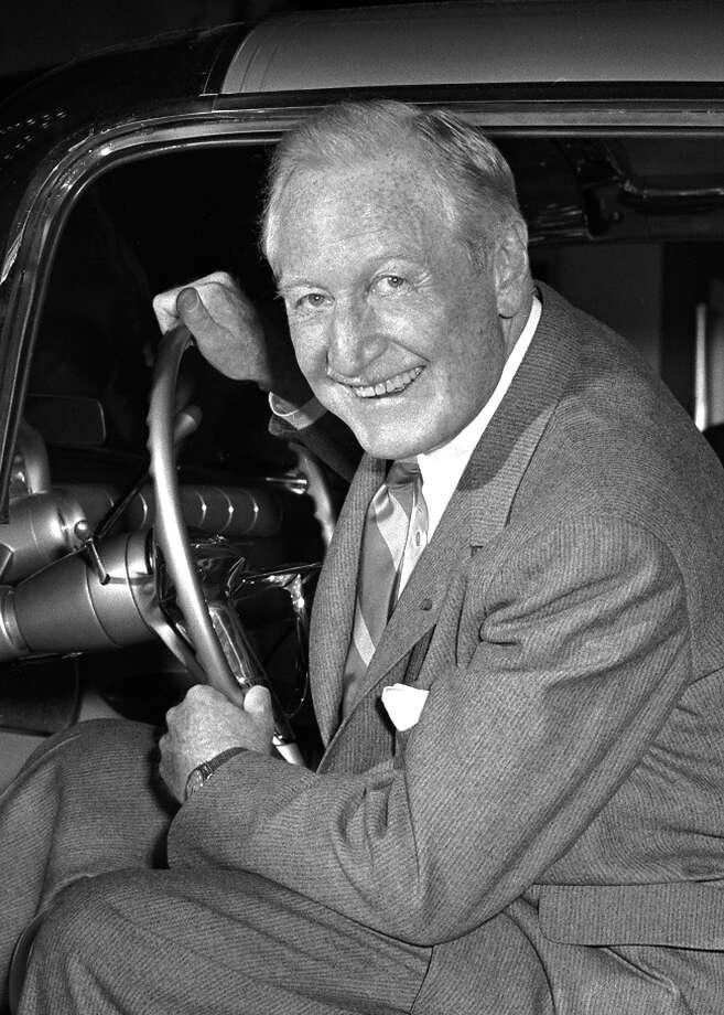 1955: General Motors president Curtice Harlow Photo: General Motors