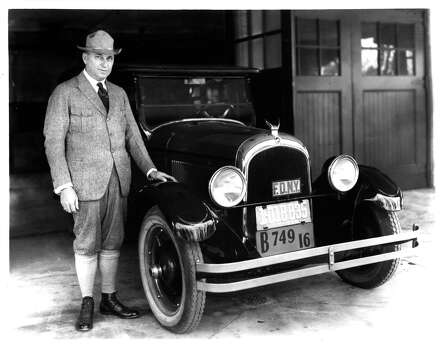1928: Walter P. Chrysler Photo: Chrysler