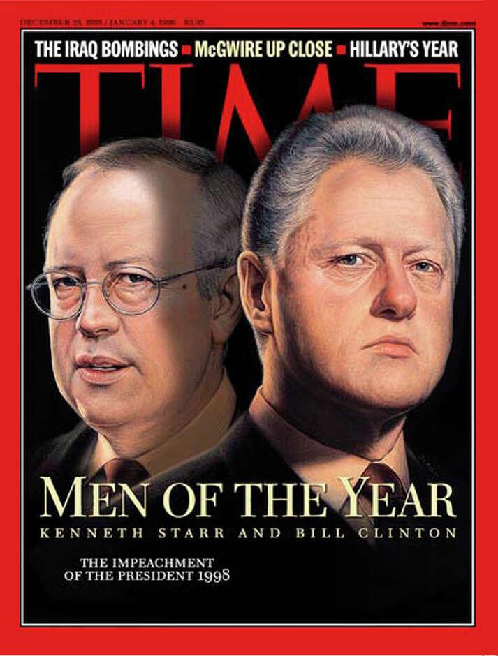 Image result for photos of president bill clinton ken starr