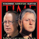 1998: President Bill Clinton and independent counsel Kenneth Starr