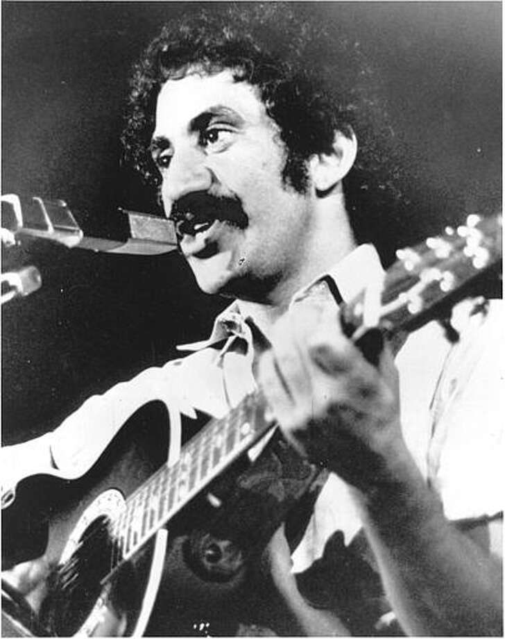 Singer Jim Croce is seen as he appeared at his last performance in Natchitoches, La., Sept. 21, 1973. After this appearance, he and five others were killed when his plane crashed near Natchitoches airport.  / AP1973