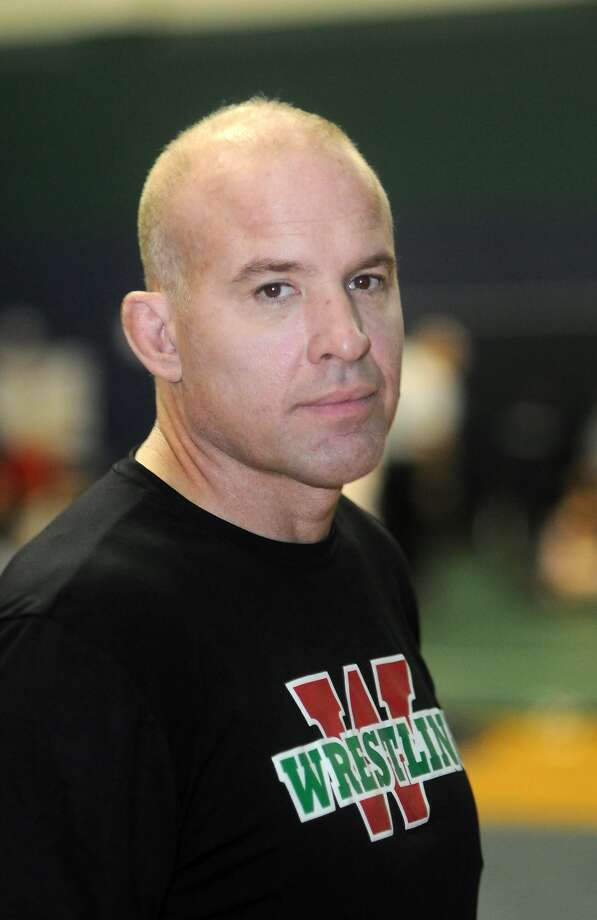TWHS Head Wrestling Coach Mike Harris Photo: Jerry Baker, Freelance