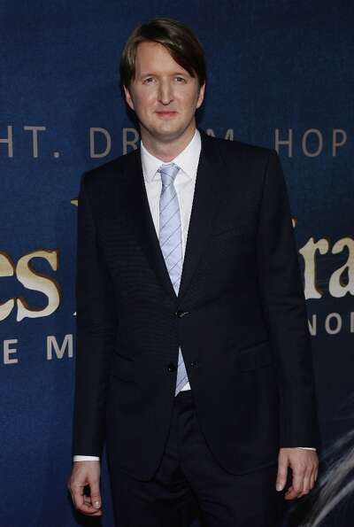 Filmmaker Tom Hooper attends the Les Miserables New York premiere at Ziegfeld Theater on December 10