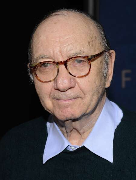 Neil Simon attends the Les Miserables New York premiere at Ziegfeld Theater on December 10, 2012 in