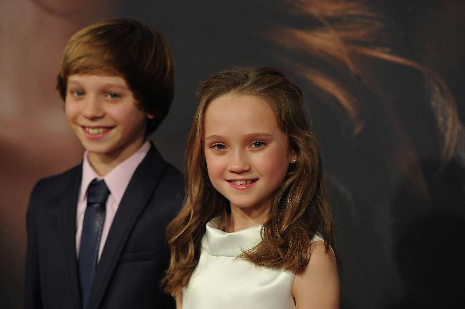 Daniel Huttlestone and Isabelle Allen attend the Les Miserables New York premiere at Ziegfeld Theater on December 10, 2012 in New York City.  (Photo by Larry Busacca/Getty Images) Photo: Larry Busacca, Getty Images / 2012 Getty Images
