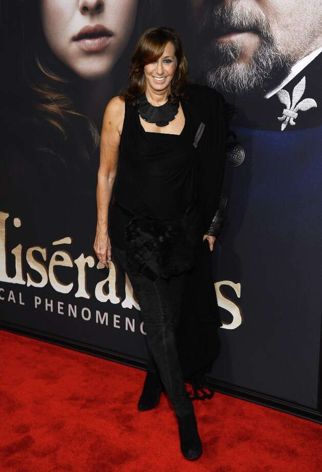 Donna Karan attends the Les Miserables New York premiere at Ziegfeld Theater on December 10, 2012 in New York City.  (Photo by Larry Busacca/Getty Images) Photo: Larry Busacca, Getty Images / 2012 Getty Images