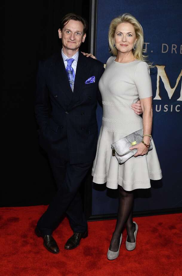 Hamish Bowles and Cornelia Guest attend the Les Miserables New York Premiere at Ziegfeld Theatre on December 10, 2012 in New York City.  (Photo by Larry Busacca/Getty Images) Photo: Larry Busacca, Getty Images / 2012 Getty Images