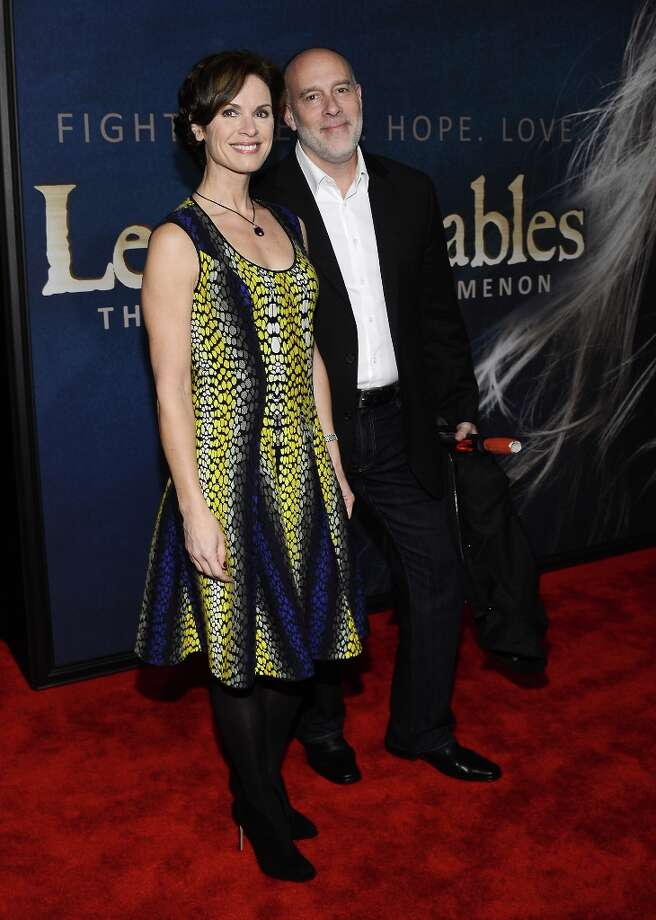 Elizabeth Vargas and Marc Cohn attend the Les Miserables New York Premiere at Ziegfeld Theatre on December 10, 2012 in New York City.  (Photo by Larry Busacca/Getty Images) Photo: Larry Busacca, Getty Images / 2012 Getty Images