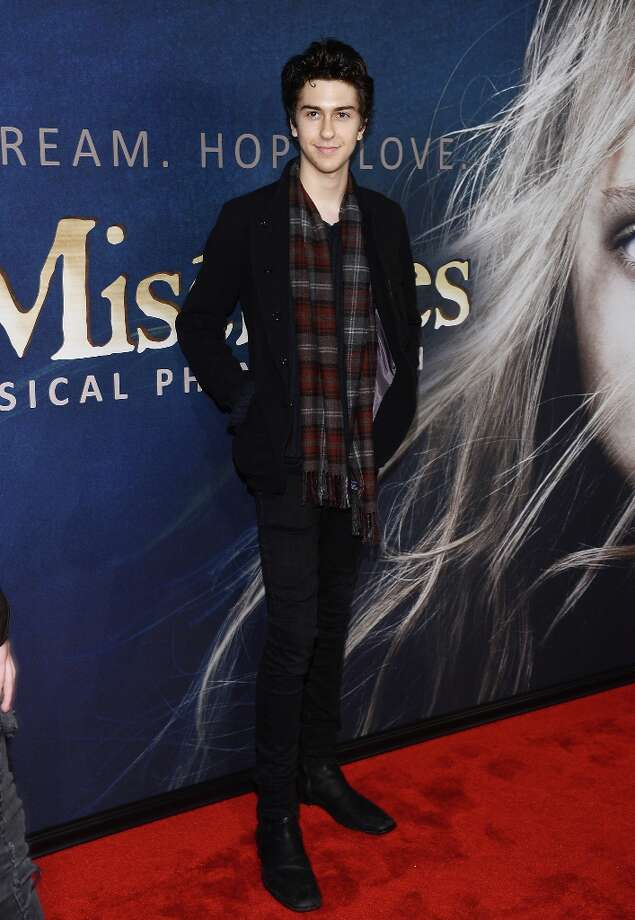 Nat Wolff attends the Les Miserables New York Premiere at Ziegfeld Theater on December 10, 2012 in New York City.  (Photo by Larry Busacca/Getty Images) Photo: Larry Busacca, Getty Images / 2012 Getty Images