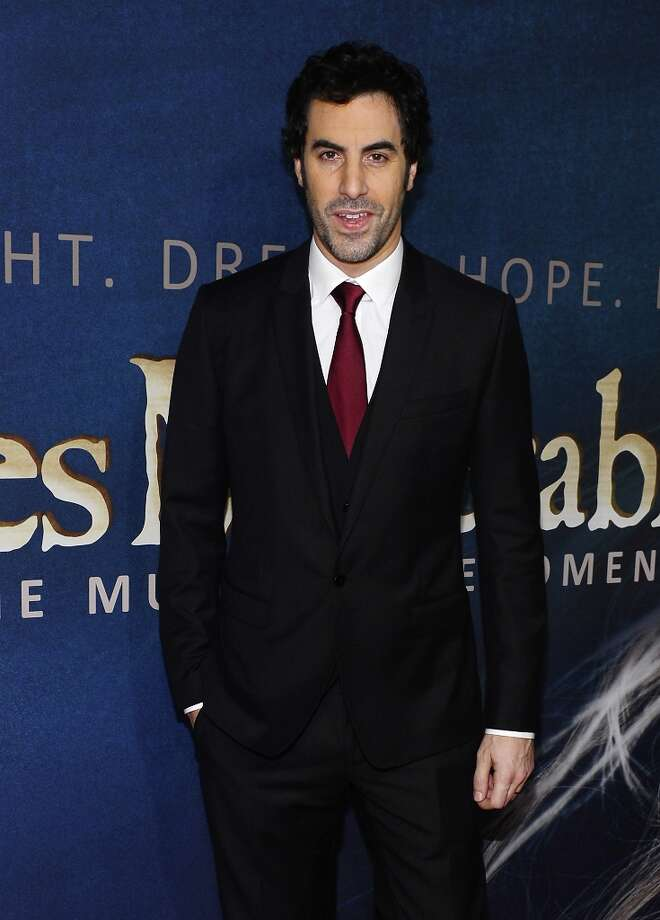 Sacha Baron Cohen attends the Les Miserables New York Premiere at Ziegfeld Theatre on December 10, 2012 in New York City.  (Photo by Larry Busacca/Getty Images) Photo: Larry Busacca, Getty Images / 2012 Getty Images