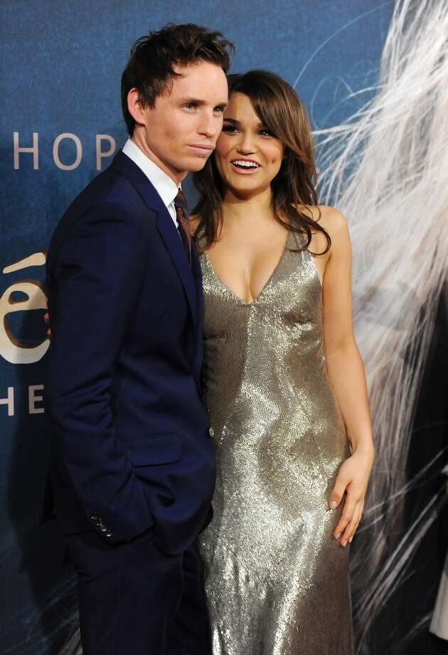 Actors Eddie Redmayne and Samantha Barks attend the premiere for Les Miserables at the Ziegfeld Theatre on Monday Dec. 10, 2012 in New York. (Photo by Evan Agostini/Invision/AP) Photo: Evan Agostini, Associated Press / Invision