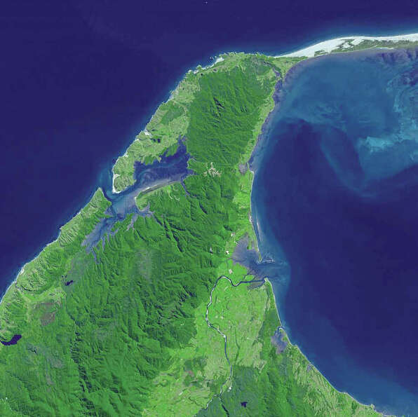 "Cape Farewell and Farewell Spit were named by British explorer Captain James Cook, who said ""farew"