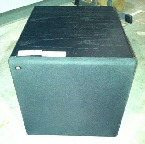 This RBH speaker is being auctioned by the U.S. Marshals Office. Photo: Picasa, .