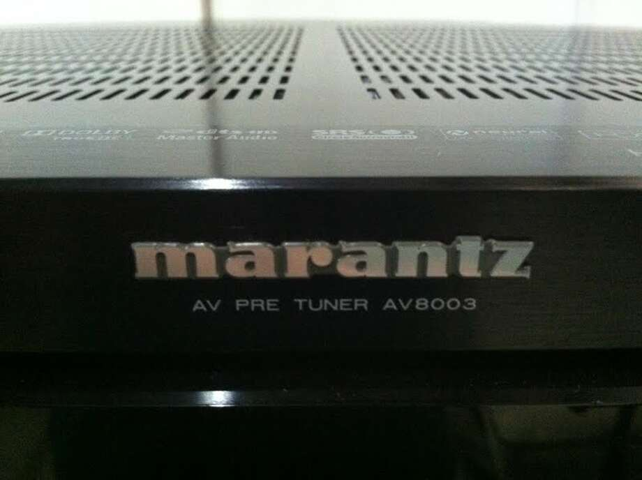 This Marantz DMT is being auctioned by the U.S. Marshals Office. Photo: Picasa, .