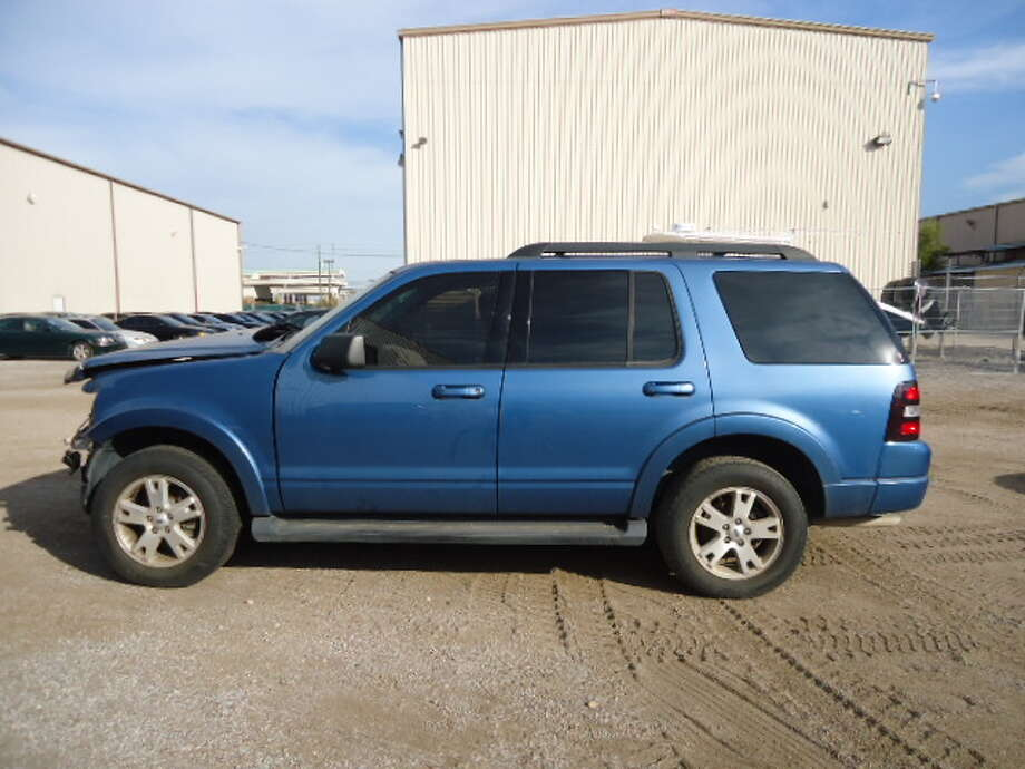 This 2009 Ford Explorer is being auctioned by the U.S. Marshals Office. Photo: Picasa, .