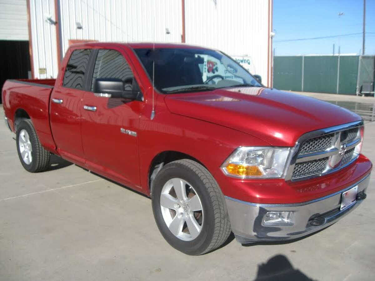 This 2009 Dodge 1500 is being auctioned by the U.S. Marshals Office.