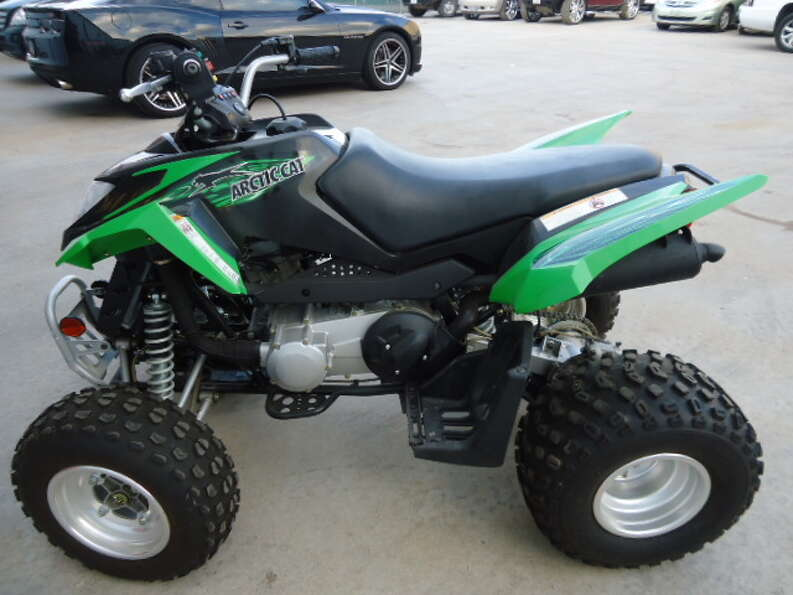 This 2008 Arctic Cat DVX-90 ATV is being auctioned by the U.S. Marshals Office.