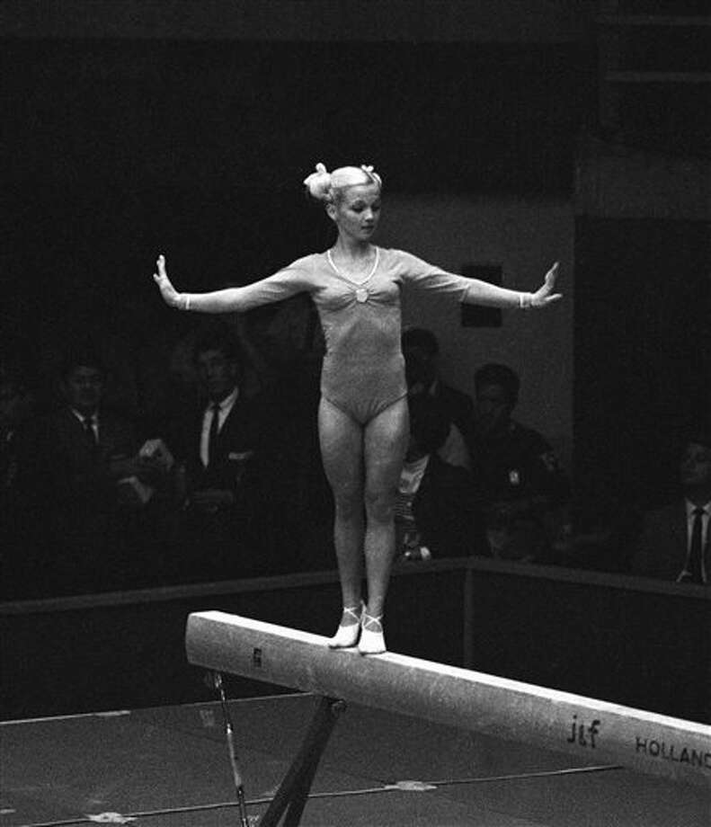She brought spunk and character to her performances at the Olympics.  Photo: Anonymous, Ap / 1968 AP