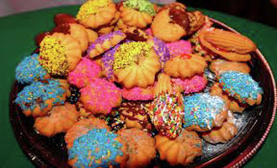 Traditional cookies are a must for many people during the Christmas season. Photo: File Photo / Fairfield Citizen