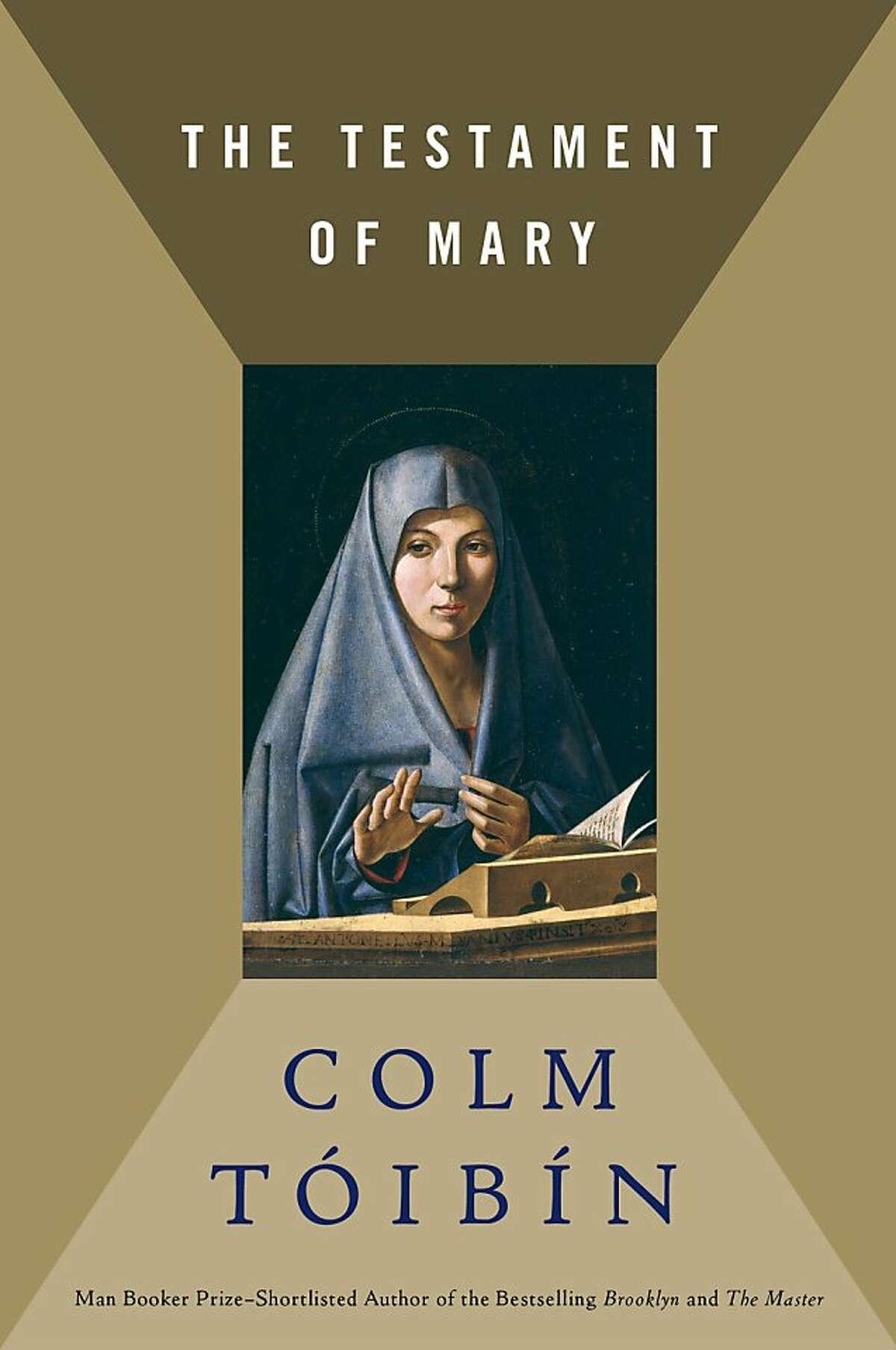 The Testament of Mary, by Colm Tóibín