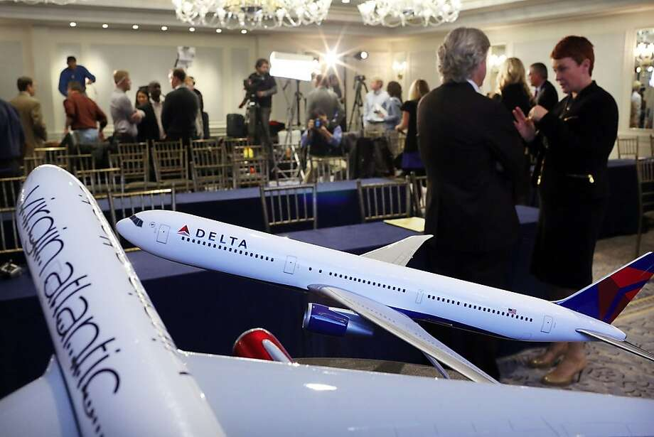 Delta Air Lines' stake in Virgin Atlantic will up its share of the lucrative trans-Atlantic travel market. Photo: Spencer Platt, Getty Images