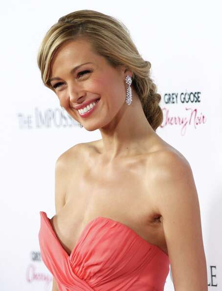 Model Petra Nemcova attends the premiere of The Impossible at the Arclight Cinerama Dome on Monday,