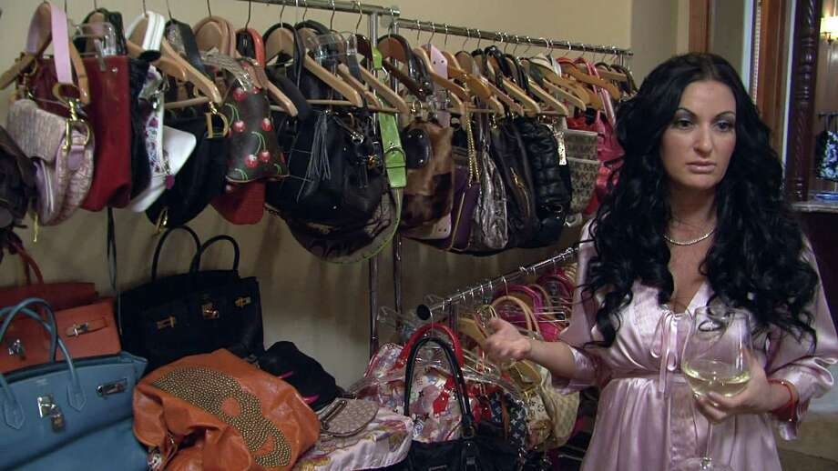 """Heather, who was featured on the Oxygen show """"My Shopping Addiction,"""" spent thousands of dollars each month on designer clothes and handbags. Photo: -- / 2012 Oxygen Media, LLC"""