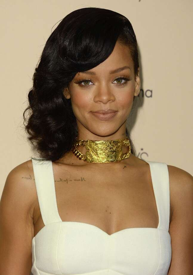 Singer Rihanna came in at #4. (Photo by Jason Merritt/Getty Images) Photo: Jason Merritt, Getty Images / 2012 Getty Images