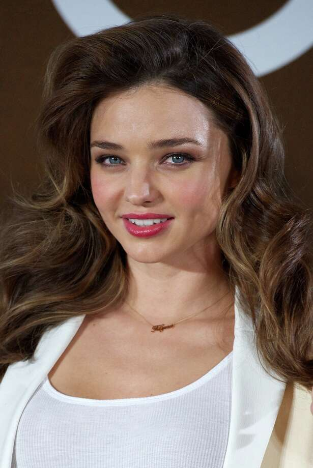 Number 5? Model Miranda Kerr. (Photo by Carlos Alvarez/Getty Images) Photo: Carlos Alvarez, Getty Images / 2012 Getty Images