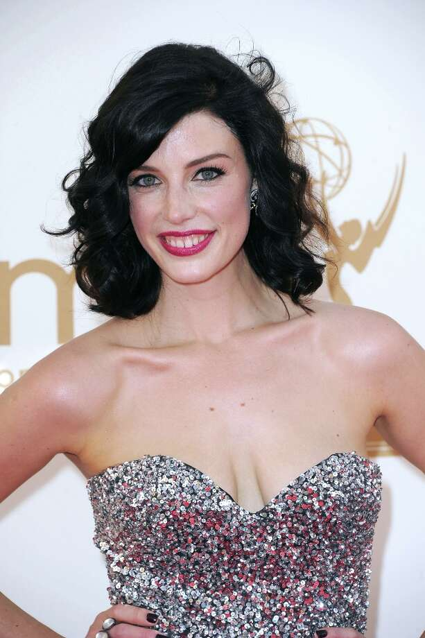 Number 8 is Mad Men Jessica Pare, who caught everyone's eye with her rendition of Zou Bisou Bisou.  (Photo by Frazer Harrison/Getty Images) Photo: Frazer Harrison, Getty Images / 2011 Getty Images