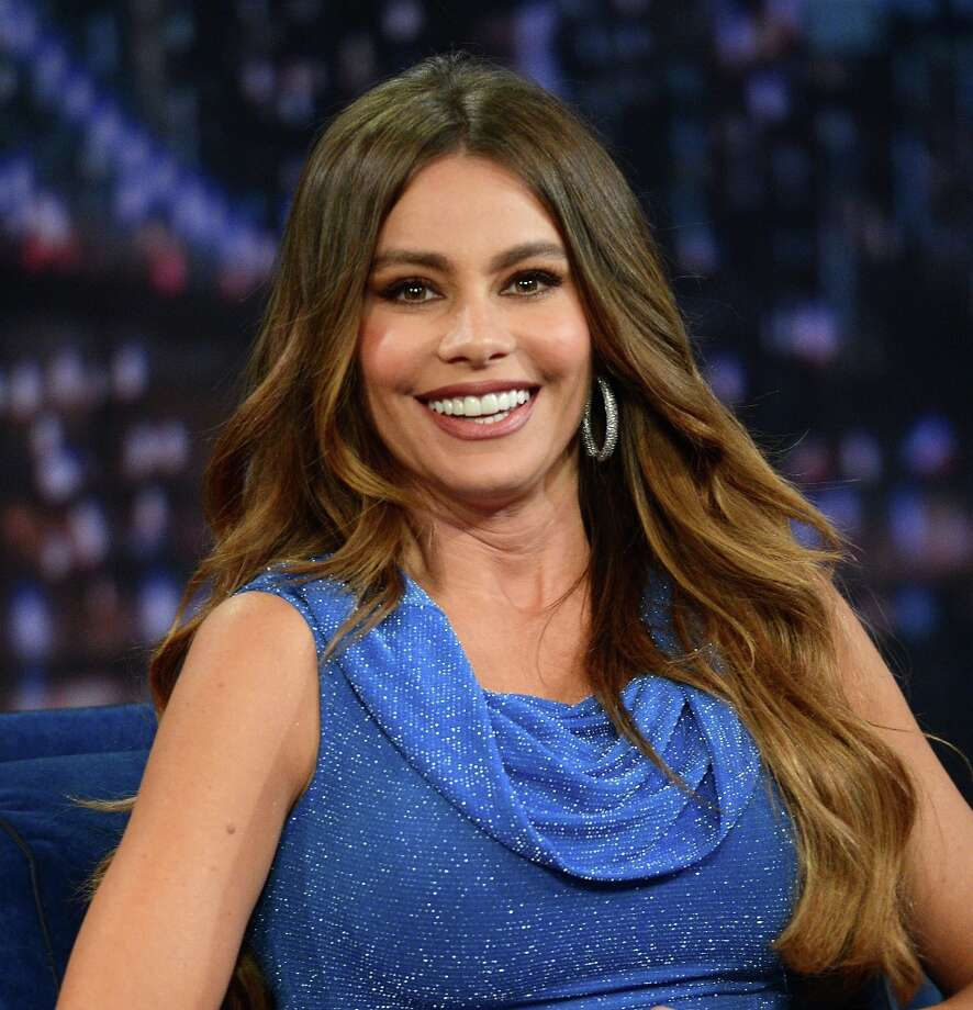Last year's #1, this year's #11. Actress Sofia Vergara.  (Photo by Jason Kempin/Getty Images) Photo: Jason Kempin, Getty Images / 2012 Getty Images