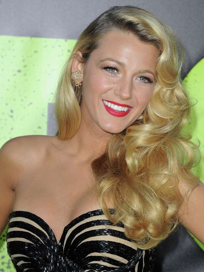 Newlywed/Savages star Blake Lively is #12.    (JOE KLAMAR/AFP/GettyImages) Photo: JOE KLAMAR, AFP/Getty Images / 2012 AFP