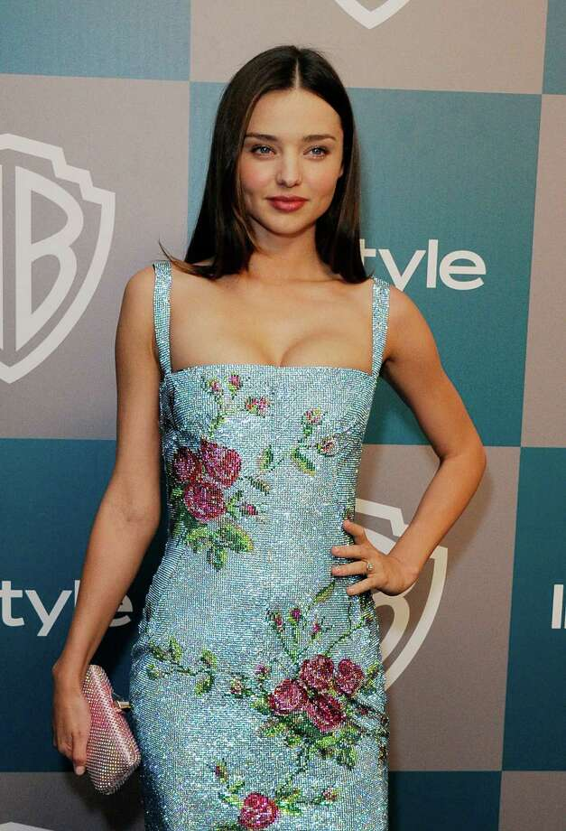 Model Miranda Kerr was #4. Photo: Kevork Djansezian, Getty Images / 2012 Getty Images