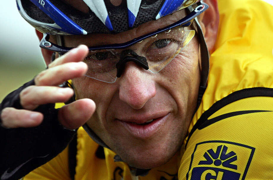 10. Lance Armstrong is stripped of his seven Tour de France titles after he gives up the fight against doping allegations. Photo: JOEL SAGET, AFP/Getty Images / 2005 AFP