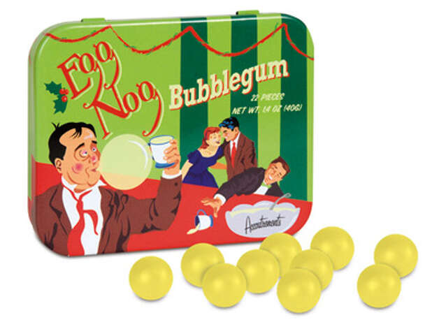 Egg Nog Bubblegum. For all the egg nog fiends out there but sorry there's no rum in this! $3.99. Buy.com.