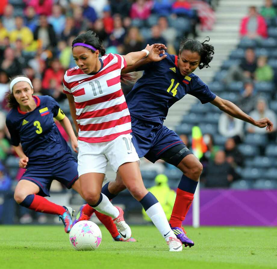Sydney Leroux (11) is one of the young players the United States will be counting on to assume a bigger role in the coming years. Photo: Stanley Chou, Stringer / 2012 Getty Images