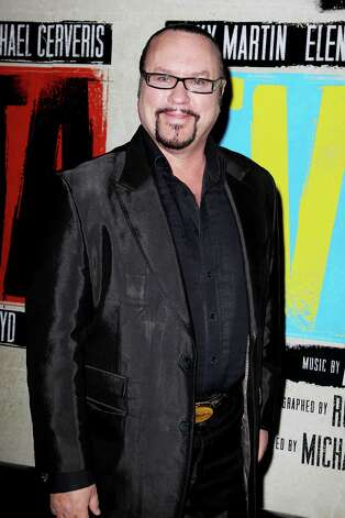 "FILE - This April 5, 2012 file photo shows musician Desmond Child at the Broadway opening of ""Evita,"" starring Ricky Martin, at the Marriott Marquis Hotel in New York. Child and composer Rudy Perez have announced the formation of The Latin Songwriters Hall of Fame. Inductees will be honored at the inaugural induction ceremony on Tuesday, April 23, 2013. (AP Photo/Starpix, Amanda Schwab, file) Photo: Amanda Schwab"