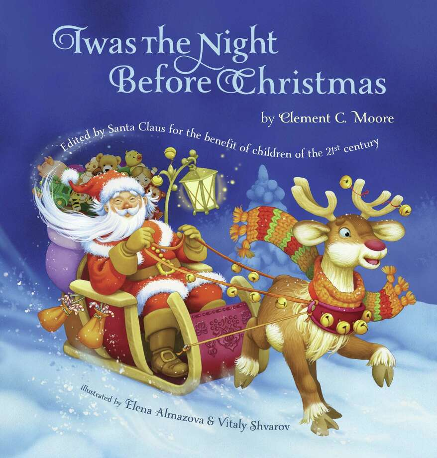 this book cover image released by grafton and scratch publishers shows twas the night before - Classic Christmas Shows