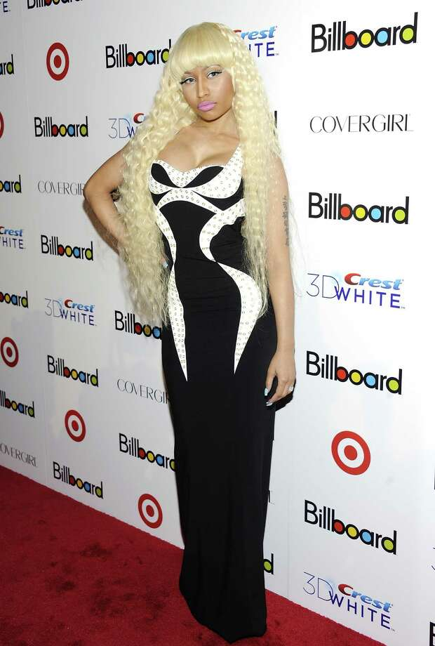 Singer Nicki Minaj was #5. Photo: Evan Agostini, Associated Press / AGOEV