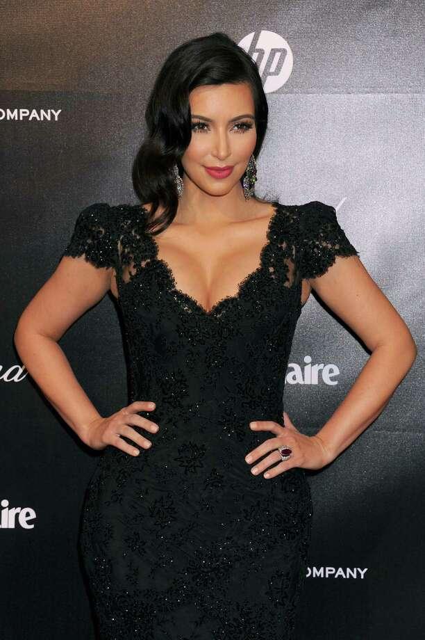 Kim Kardashian was #8. Photo: Katy Winn, Associated Press / WINNK
