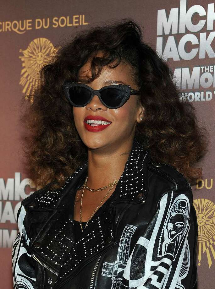 Recording artist Rihanna was #9. Photo: VALERIE MACON, AFP/Getty Images / AFP