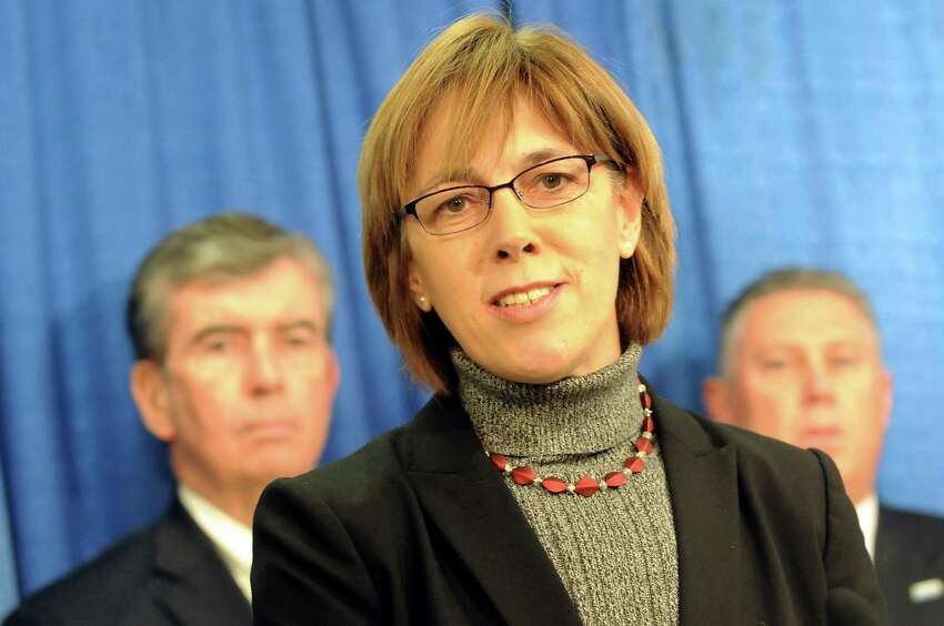 Cecilia Tkaczyk speaks about fair elections during a news conference on Tuesday, Dec. 11, 2012, at the Legislative Office Building in Albany, N.Y. (Cindy Schultz / Times Union)