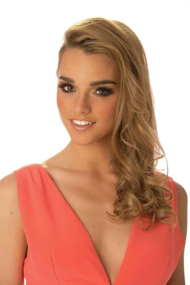 Miss Chile 2012, Ana Luisa König, poses in her evening gown. Photo: Matt Brown, Miss Universe Organization / Miss Universe Organization