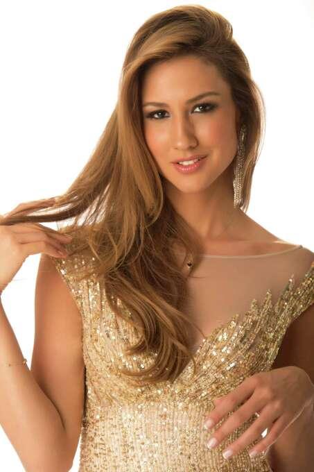 Miss Turkey 2012, Cagil Ozge Özkul, poses in her evening gown. Photo: Matt Brown, Miss Universe Organization / Miss Universe Organization