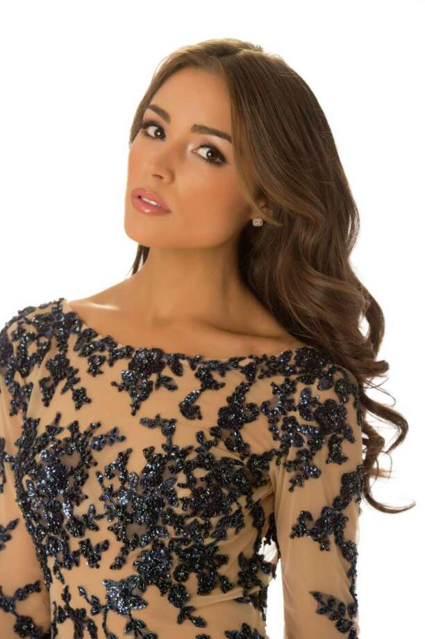 Miss USA 2012, Olivia Culpo, poses in her evening gown. Photo: Matt Brown, Miss Universe Organization / Miss Universe Organization