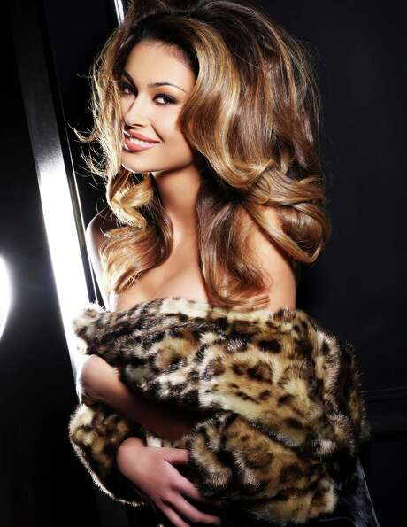 Miss Albania 2012, Adrola Dushi, is photographed by renowned fashion photographer Fadil Berisha.