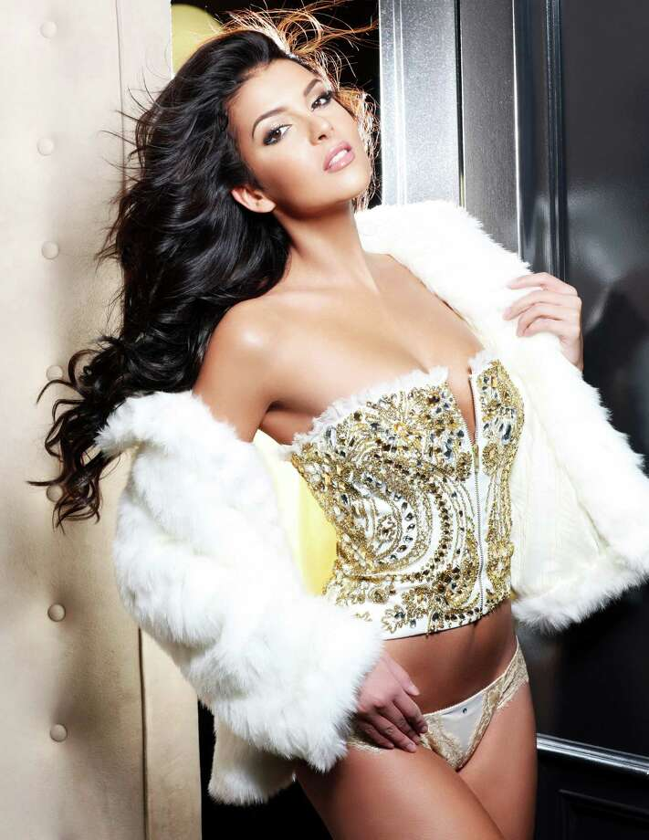 Miss Finland 2012, Sara Chafak, is photographed by renowned fashion photographer Fadil Berisha. Photo: Fadil Berisha, Miss Universe Organization / Miss Universe Organization