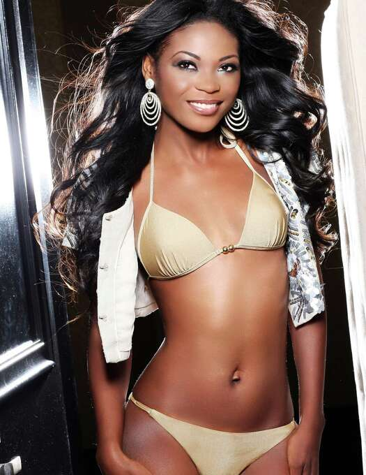 Miss Gabon 2012, Channa Divouvi, is photographed by renowned fashion photographer Fadil Berisha. Photo: Fadil Berisha, Miss Universe Organization / Miss Universe Organization