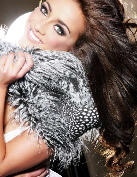 Miss Great Britain 2012, Holly Hale, is photographed by renowned fashion photographer Fadil Berisha. Photo: Fadil Berisha, Miss Universe Organization / Miss Universe Organization